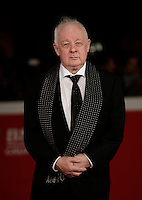 "Il regista irlandese Jim Sheridan posa sul red carpet per la presentazione del film ""The Secret Scripture"" al Festival Internazionale del Film di Roma, 18 ottobre 2016.<br /> Irish director Jim Sheridan poses on the red carpet to present the movie ""The Secret Scripture"" during the international Rome Film Festival at Rome's Auditorium,18 October 2016.<br /> UPDATE IMAGES PRESS/Isabella Bonotto"