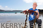 John Fitzgerald from Atlantic Irish Seaweed in Derrynane pictured here with some local examples of what our coastline has to offer.
