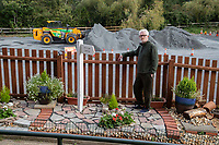On rocky ground - residents forced to remove garden feature amid health and safety fears.