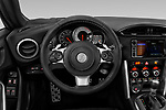 Car pictures of steering wheel view of a 2018 Toyota 86 GT 2 Door Coupe Steering Wheel