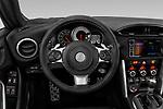 Car pictures of steering wheel view of a 2018 Toyota 86 GT 2 Door Coupe Steering Wheel