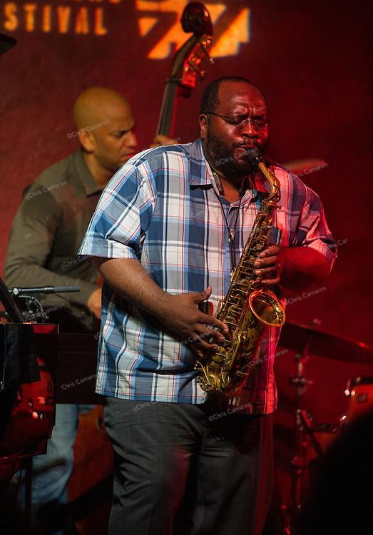 Darius Jones plays IronWorks with his quartet featuring Tarbaby, June 27, 2014 TD Vancouver International Jazz Festival