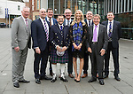 St Johnstone FC Hall of Fame Dinner, Perth Concert Hall….03.04.16<br />Pictured from left, Dave Ryan, Charlie Fraser, Tommy Wright, Chairman Steve Brown, Stan Harris, Jo Wilson, Roddy Grant, Geoff Brown and John McDougall<br />see story by Gordon Bannerman 07729 865788<br />Picture by Graeme Hart.<br />Copyright Perthshire Picture Agency<br />Tel: 01738 623350  Mobile: 07990 594431
