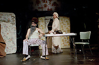 le sketche de la Petite vie,  Ding et Dong ,1985.<br /> <br /> Photo : Denis Alix - Agence Quebec Presse