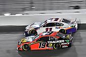 #19: Martin Truex Jr., Joe Gibbs Racing, Toyota Camry Bass Pro Shops and #11: Denny Hamlin, Joe Gibbs Racing, Toyota Camry FedEx Express