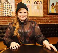 la chanteuse Sarah Bourdon, 2015<br /> PHOTO : Agence Quebec Presse