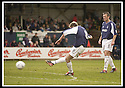 26/04/2003                   Copyright Pic : James Stewart.File Name : stewart-falkirk v ayr 02.LEE  MILLER SCORES FALKIRK'S FIRST......James Stewart Photo Agency, 19 Carronlea Drive, Falkirk. FK2 8DN      Vat Reg No. 607 6932 25.Office     : +44 (0)1324 570906     .Mobile  : +44 (0)7721 416997.Fax         :  +44 (0)1324 570906.E-mail  :  jim@jspa.co.uk.If you require further information then contact Jim Stewart on any of the numbers above.........