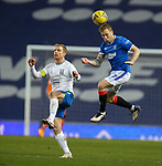 13.02.2021 Rangers v Kilmarnock: Scott Arfield and Chris Burke