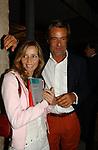 ELIANA MIGLIO CON PAOLO GLISENTI<br /> PREMIO LETTERARIO CAPALBIO 2003