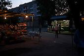 Uzhgorod, Ukraine.June 4, 2005 ..Daily life in Uzhgorod on Gagarina street...