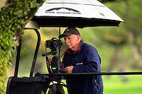 John Mathews sets up a timelapse. Cobra Puma New Zealand Men's Amateur Qualifying at the Royal Wellington Golf Course in Silverstream, Wellington, New Zealand on Wednesday, 26 October 2016. Photo: Dave Lintott / lintottphoto.co.nz / BWmedia.co.nz