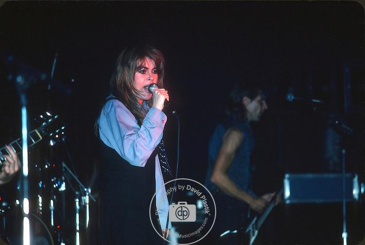 "Christine ""Chrissy"" Amphlett of The Divinyls, April 1986 NYC. Photo By David Plastik"