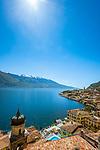Italy, Lombardia, Lake Garda, Limone | Italien, Lombardei, Gardasee, Limone am Westufer des Gardasees
