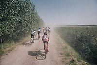 eating dust<br /> <br /> 92nd Schaal Sels 2017 <br /> 1 Day Race: Merksem > Merksem (188km)