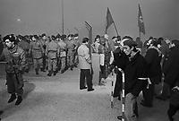 - demonstration against Caorso  nuclear power station  (October 1986)....- manifestazione contro la centrale nucleare di Caorso(ottobre 1986)