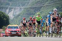 Simon Clarke (AUS/Cannondale-Drapac)<br /> <br /> stage 7: Aoste > Alpe d'Huez (168km)<br /> 69th Critérium du Dauphiné 2017