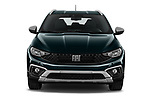 Car photography straight front view of a 2021 Fiat Tipo-Cross - 5 Door Hatchback Front View
