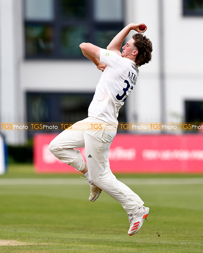 Jamie Atkins bowls for Sussex during Kent CCC vs Sussex CCC, LV Insurance County Championship Group 3 Cricket at The Spitfire Ground on 11th July 2021