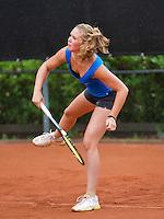 07-08-13, Netherlands, Rotterdam,  TV Victoria, Tennis, NJK 2013, National Junior Tennis Championships 2013, Myrthe van der Meer<br /> <br /> <br /> Photo: Henk Koster