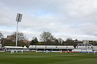 General view of the action during Essex CCC vs Worcestershire CCC, LV Insurance County Championship Group 1 Cricket at The Cloudfm County Ground on 8th April 2021