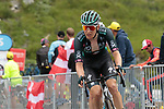 Wilco Kelderman (NED) Bora-Hansgrohe on the final climb of Luz-Ardiden during Stage 18 of the 2021 Tour de France, running 129.7km from Pau to Luz-Ardiden, France. 15th July 2021.  <br /> Picture: Colin Flockton   Cyclefile<br /> <br /> All photos usage must carry mandatory copyright credit (© Cyclefile   Colin Flockton)