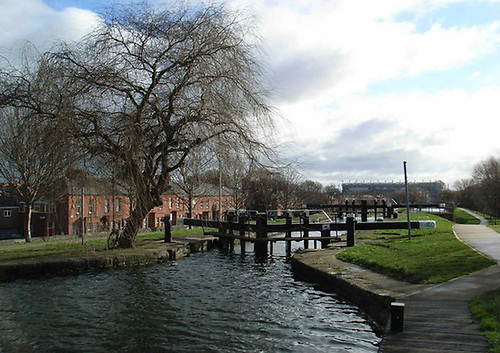 The Royal Canal at Whitworth Road