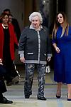 Pilar de Borbon attends to National Sports Awards at Royal Palace of el Pardo in Madrid, Spain. January 10, 2019. (ALTERPHOTOS/A. Perez Meca) (ALTERPHOTOS/A. Perez Meca)