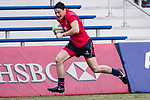 Austin Robertshaw runs for a try during the Asia Rugby U20 Sevens 2017 at King's Park Sports Ground on August 4, 2017 in Hong Kong, China. Photo by Yu Chun Christopher Wong / Power Sport Images