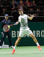 ABN AMRO World Tennis Tournament, Rotterdam, The Netherlands, 17 Februari, 2017, Grigor Dimitrov (BUL)<br /> Photo: Henk Koster