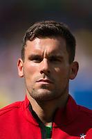 Goalkeeper Ben Foster of England