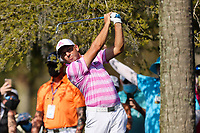14th March 2021; Ponte Vedra Beach, Florida, USA;  Sergio Garcia of Spain plays a shot on the 14th hole during the final round of THE PLAYERS Championship on March 14, 2021 at TPC Sawgrass Stadium Course in Ponte Vedra Beach, Fl.
