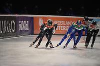 SPEEDSKATING: DORDRECHT: 06-03-2021, ISU World Short Track Speedskating Championships, SF 3000m Relay, Rianne de Vries (NED), Cynthia Mascitto (ITA), ©photo Martin de Jong