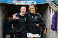 Cary, North Carolina - Saturday, August 24, 2019: North Carolina Courage vs Reign FC at Sahlen's Stadium at WakeMed Soccer Park.