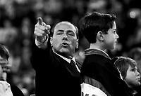 Silvio Berlusconi, nascita di Forza Italia, 1992-1994, festa Milan, 1993,