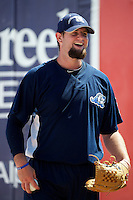 West Michigan Whitecaps Dan Bennett #22 during practice before a game against the Bowling Green Hot Rods at Fifth Third Ballpark on June 26, 2012 in Comstock Park, Michigan.  West Michigan defeated Bowling Green 13-11.  (Mike Janes/Four Seam Images)