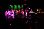 November 3, 2011 New York: Brother Joscephus and the Love Revival Revolution perform HIro Ballroom on November 3, 2011 in New York.