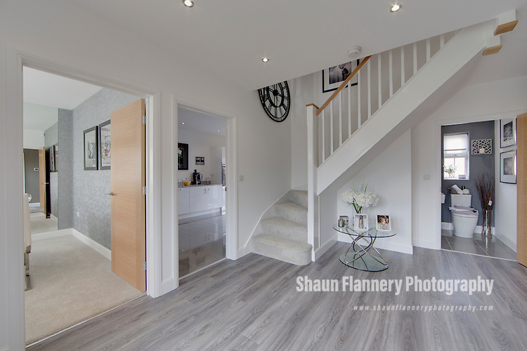 Pix: Shaun Flannery/shaunflanneryphotography.com<br /> <br /> COPYRIGHT PICTURE>>SHAUN FLANNERY>01302-570814>>07778315553>><br /> <br /> 28th May 2016<br /> Miller Homes Yorkshire<br /> Chene Hall<br /> Otley Road, Killinghall<br /> Thames 5 Bedroom Show Home
