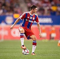 Harrison, NJ - July 31, 2014: FC Bayern defeated CD Chivas de Guadalajara 1-0 during an international friendly at Red Bull Arena.