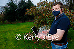 Trevor Coffey, Mid-Kerry Macra Chairman launches their fundraiser Macra Blind Date in Beaufort on Saturday.
