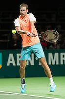 ABN AMRO World Tennis Tournament, Rotterdam, The Netherlands, 13 februari, 2017, Florian Mayer (GER)<br /> Photo: Henk Koster
