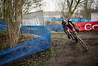 Belgian National CX Champion Wout van Aert (BEL/Jumbo-Visma)<br /> <br /> 2021 Flandriencross Hamme (BEL)<br /> Men's Race<br /> <br /> ©kramon