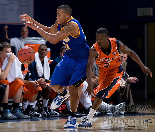 1/22/11, Fullerton Ca.; The Titans continue their winning ways with a big win over UCSB.