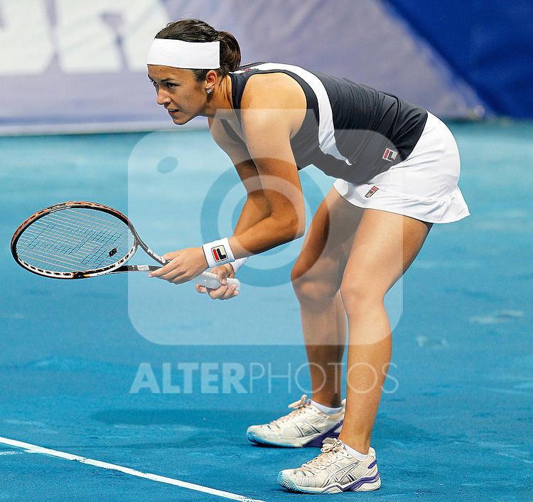 Silvia Soler-Espinosa during Madrid Open Tennis 2012 Match.May, 7, 2012(ALTERPHOTOS/ALFAQUI/Acero)