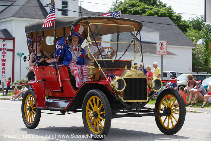 2014 Lincoln - Woodstock 4th of July parade in Lincoln, New Hampshire USA