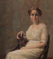ActiveMuseum_0000066.jpg / Portrait of Mira Pintar - Ivana Kobilca (1913) - <br /><br />06/06/2013  -   / 20th century<br />Active Museum / Le Pictorium
