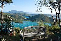 Aftel House managed by Destination St John.overlooking Coral Bay<br /> US Virgin Islands