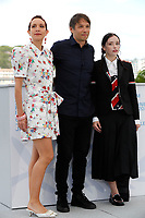 CANNES, FRANCE - JULY 15, 2021: Bree Elrod, Sean Baker, Suzanna Son at photocall  for 'Red Rocket' during the 74th Cannes Film Festival held at the Palais des Festivals in Cannes, France.CAP/GOL<br /> ©GOL/Capital Pictures
