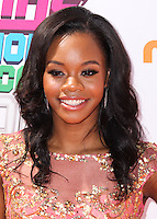 WESTWOOD, LOS ANGELES, CA, USA - JULY 17: Gabby Douglas at the Nickelodeon Kids' Choice Sports Awards 2014 held at UCLA's Pauley Pavilion on July 17, 2014 in Westwood, Los Angeles, California, United States. (Photo by Xavier Collin/Celebrity Monitor)