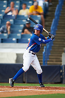 Chase Murray of Cincinnati Hills Christian Academy in Cincinnati, Ohio playing for the Chicago Cubs scout team during the East Coast Pro Showcase on July 28, 2015 at George M. Steinbrenner Field in Tampa, Florida.  (Mike Janes/Four Seam Images)