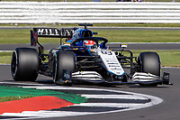 18th July 2021; Silverstone Circuit, Silverstone, Northamptonshire, England; Formula One British Grand Prix, Race Day; Williams Racing driver George Russell in his Williams FW43B Mercedes-AMG F1 M12